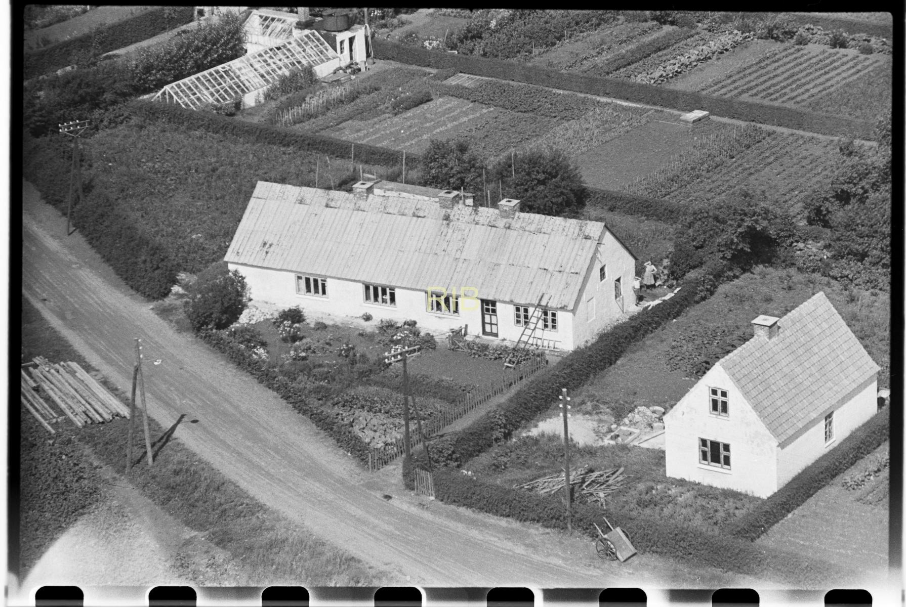 Næsbyvej 12 og 14 i 1950