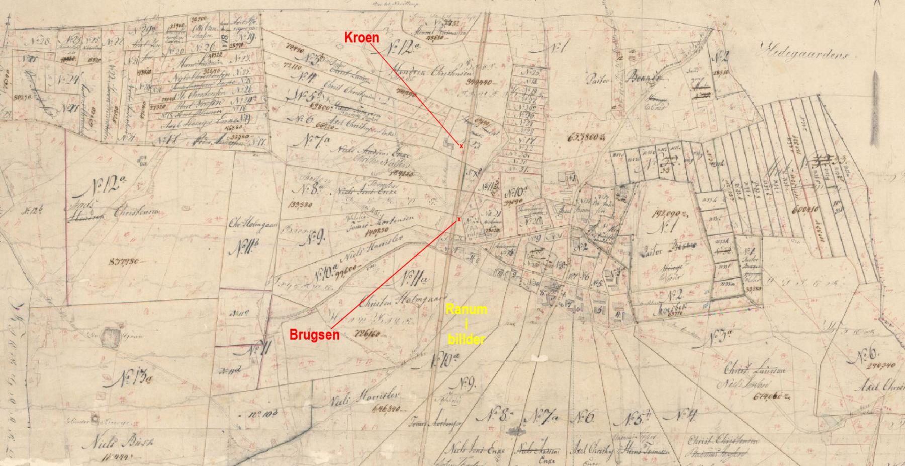 Matrikelkort 1814 til 1859